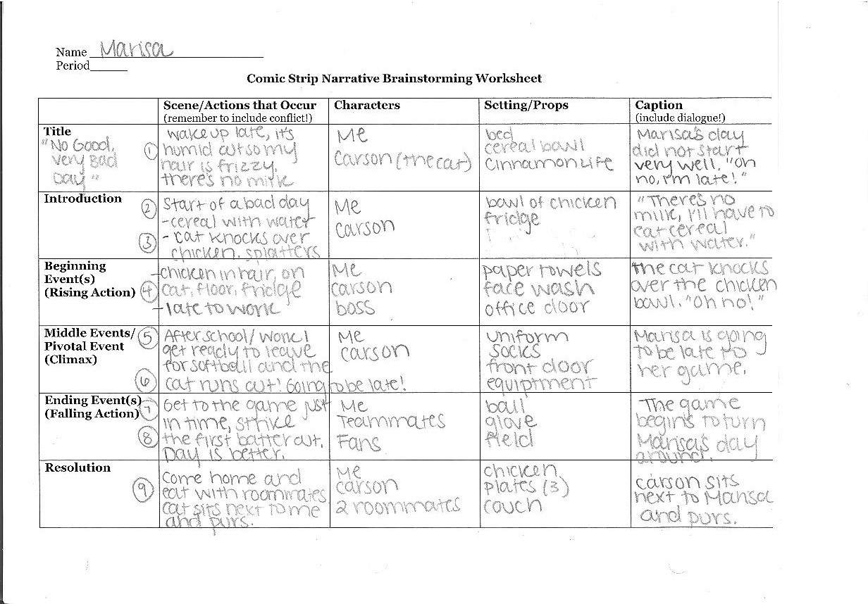 worksheet Because Of Winn Dixie Worksheets a day in the life comic miss donnellys daily apple advertisements