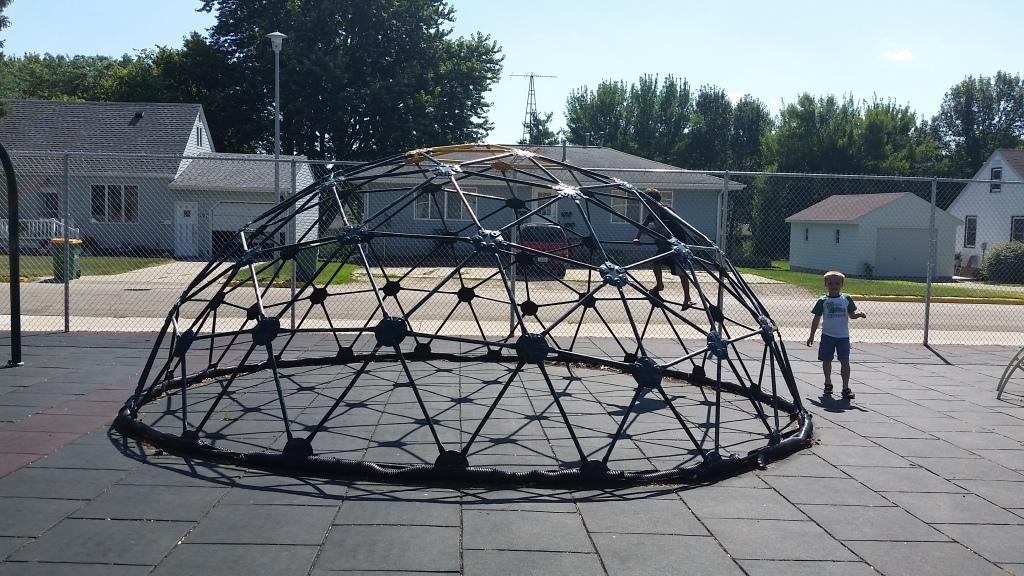 Lake Mills playground