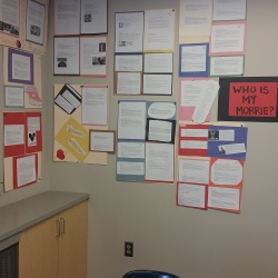 Who's My Morrie Wall: a collection of student poems.
