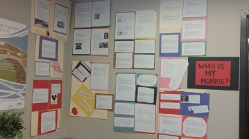 My English 10 students created 'Morrie Poems,' about the influential people in their lives.