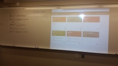 Showing parents the Google Classroom sites