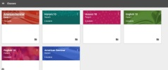Google Classroom Website: created a class for each period to send information, post announcements and assignments, and stay in contact outside of school.