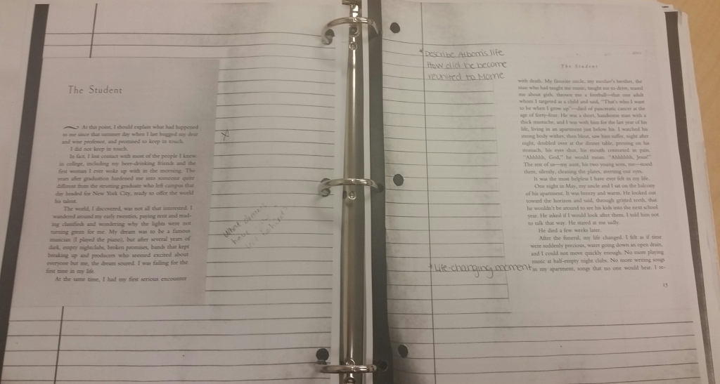 TWM Binder Pages
