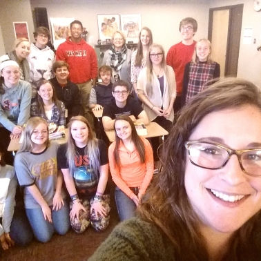 Selfie with my 2nd period!