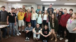 My 1st hour English 10!