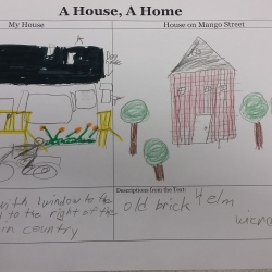 Comparing the House on Mango Street to our own houses!