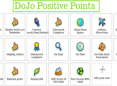 Class Dojo: something we use with the sixth graders for behavior.