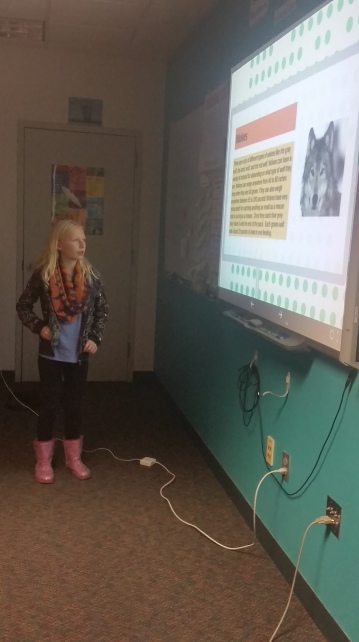 This student did a Prezi.