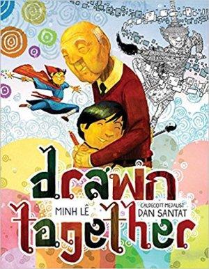 coloring book, Drawn Together, Minh Lê